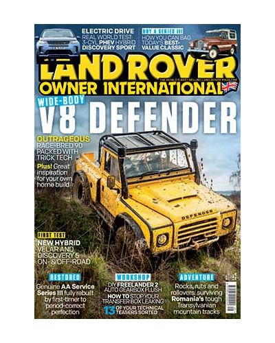 Land Rover Owner May 2021