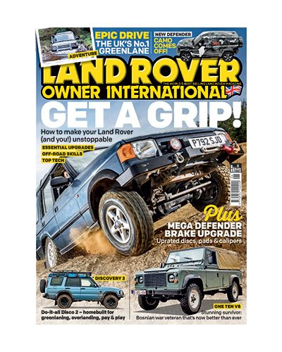 Land Rover Owner issue June 2019