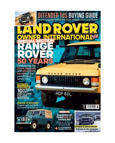 Land Rover Owner June 2020