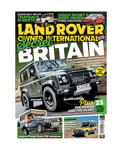 Land Rover Owner issue July 2019