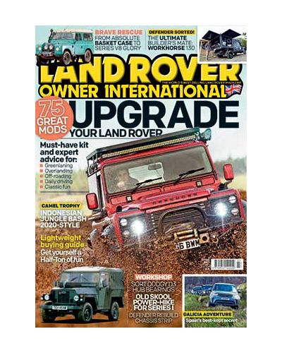 Land Rover Owner July 2020