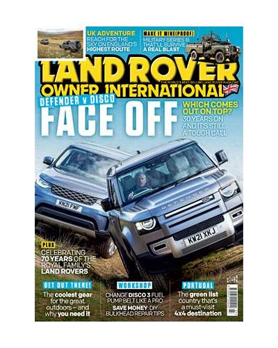 Land Rover Owner July 2021