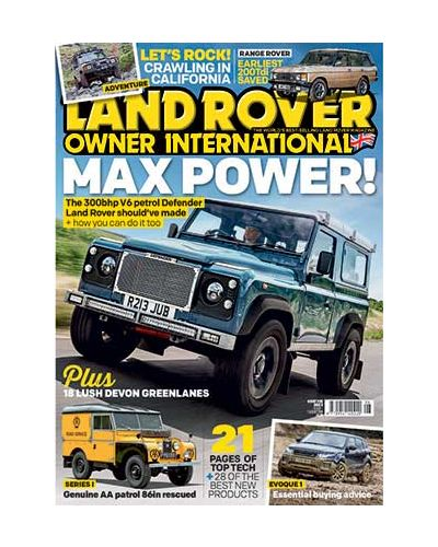 Land Rover Owner issue August 2019