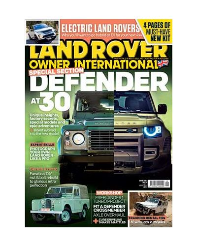 Land Rover Owner August 2020