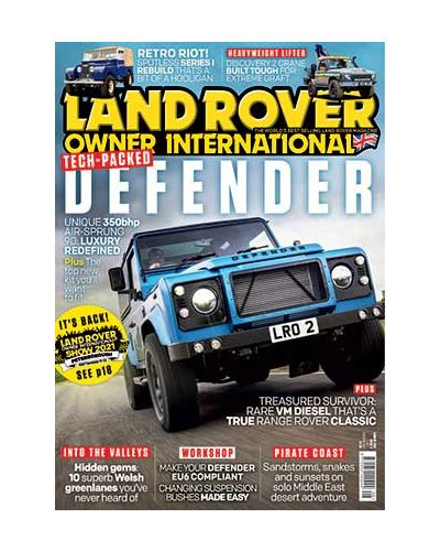 Land Rover Owner August 2021