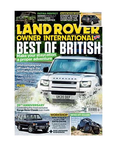 Land Rover Owner October 2020