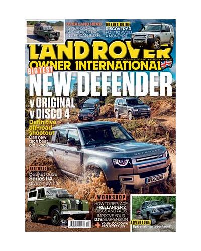 Land Rover Owner November 2020
