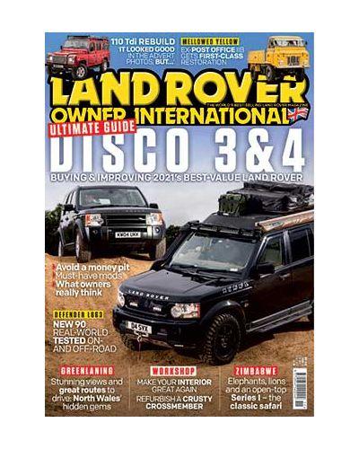 Land Rover Owner November 2021