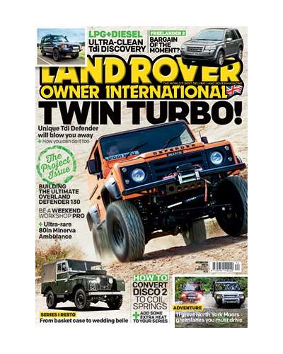 Land Rover Owner issue December 2019