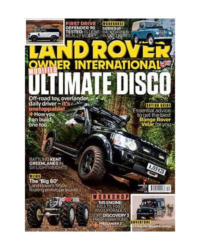 Land Rover Owner December 2020