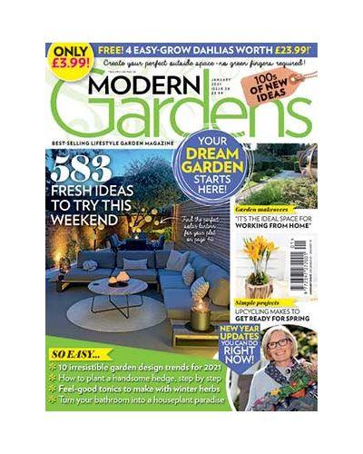 Modern Gardens January 2021