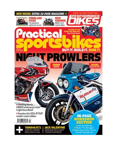 Practical Sportsbikes June 2019