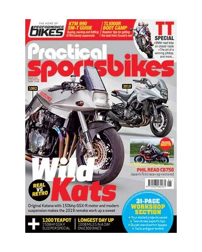 Practical Sportsbikes August 2019