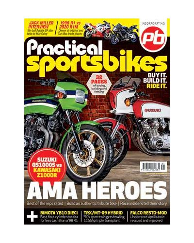 Practical Sportsbikes January 2020