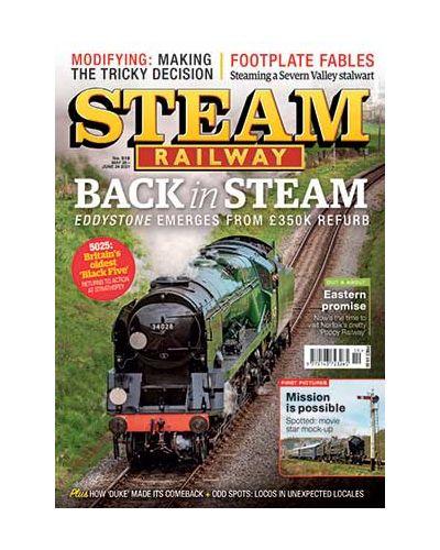 Steam Railway Issue 519