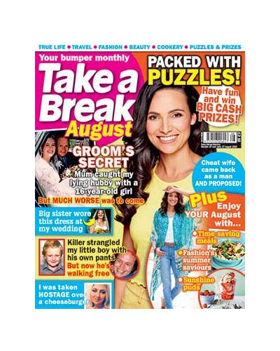 Take a Break Monthly issue 8 2020
