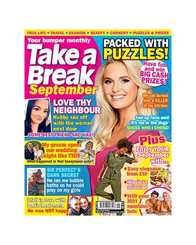 Take a Break Monthly issue 9 2020