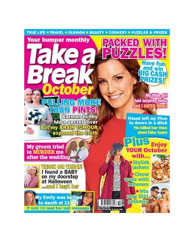 Take a Break Monthly issue 10 2020
