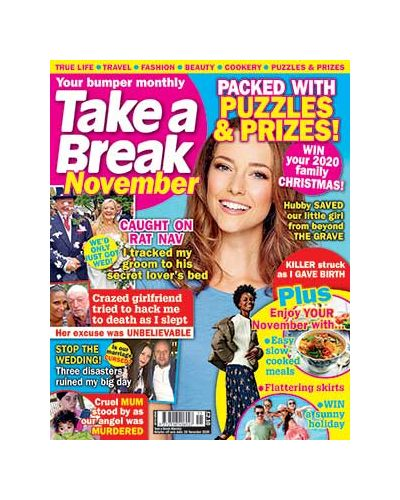 Take a Break Monthly issue 11 2020