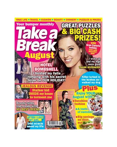 Take a Break Monthly August 2021