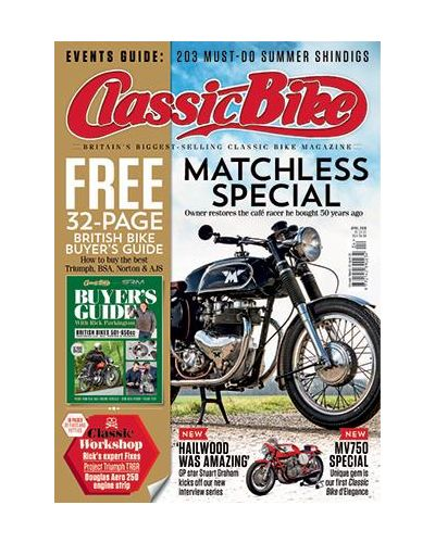 Classic Bike Digital issue April 2019