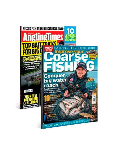 Angling Times & Improve Your Coarse Fishing Print Subscription Pack