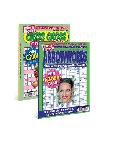 Arrowwords & Criss Cross Collection Print Subscription Pack