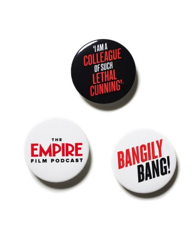 Empire Set of 3 Badges