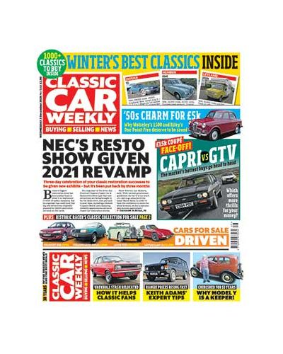 Classic Car Weekly Digital  Issue 02/12/2020