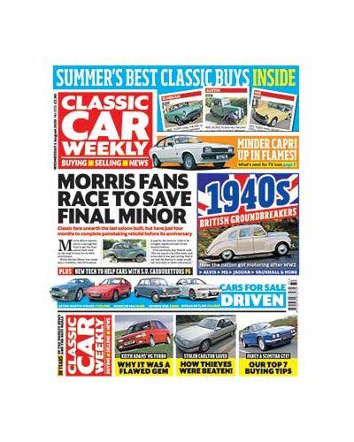 Classic Car Weekly Digital Issue 05/08/2020