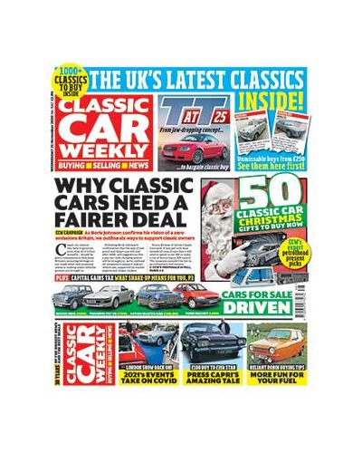 Classic Car Weekly Digital  Issue 25/11/2020