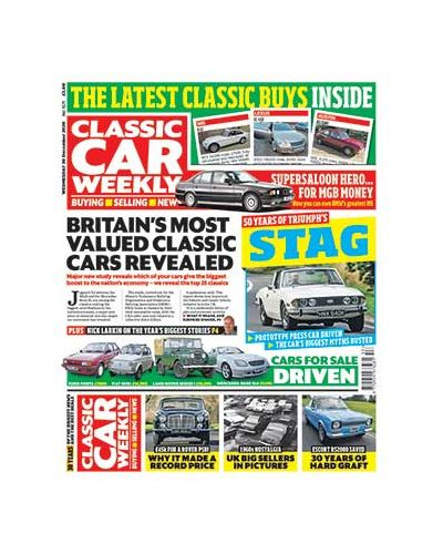 Classic Car Weekly Digital  Issue 30/12/2020