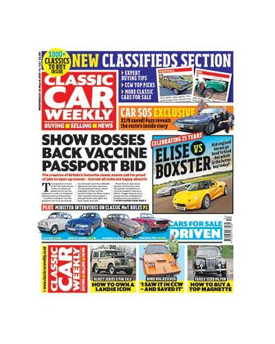 Classic Car Weekly Digital Issue 24/03/2021