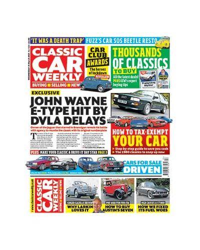 Classic Car Weekly Digital Issue 31/03/2021