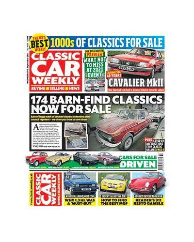 Classic Car Weekly Digital Issue 15/09/2021