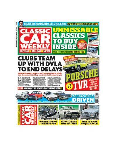 Classic Car Weekly Digital Issue 28/07/2021