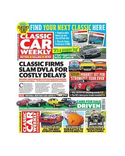 Classic Car Weekly Digital Issue 25/08/2021