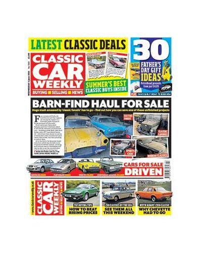 Classic Car Weekly Digital Issue 02/06/2021