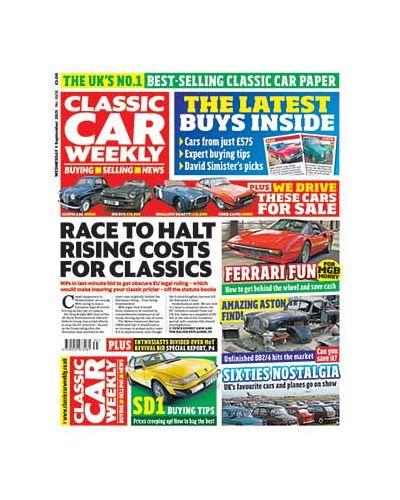 Classic Car Weekly Digital Issue 01/09/2021