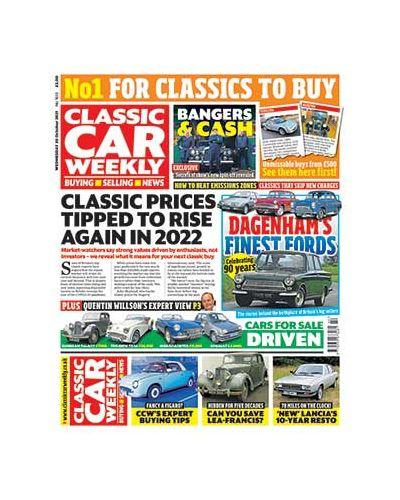 Classic Car Weekly Digital Issue 20/10/2021