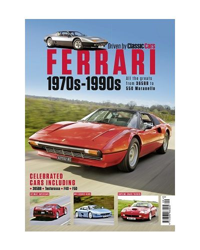 Driven by Classic Cars Ferrari 1970s-1990s