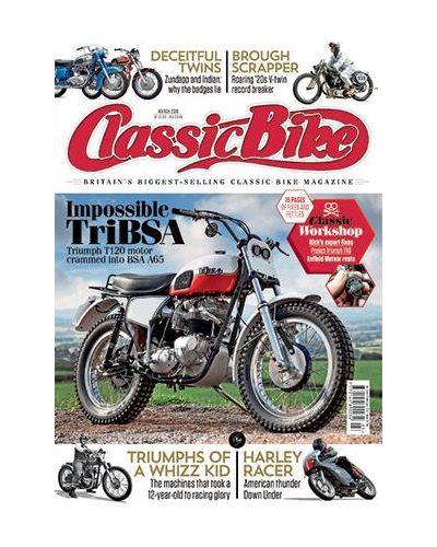 Classic Bike Digital issue March 2019