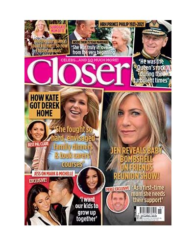 Closer Magazine Subscription