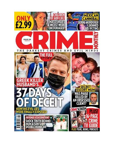 Crime Monthly Print Issue 28