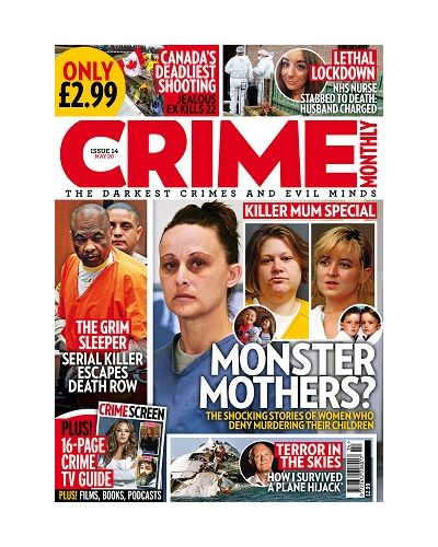 Crime Monthly Print Issue 14