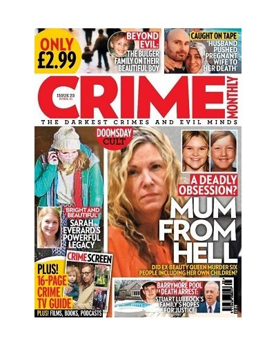 Crime Monthly Print Issue 25