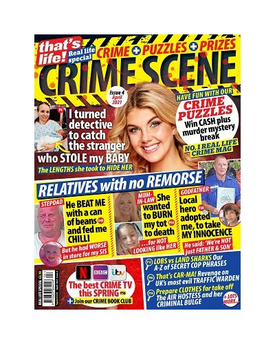 that's life! Crime Scene - Issue 4: April 2021