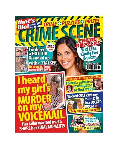 that's life! Crime Scene - Issue 8: Oct 2021