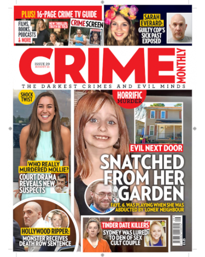 Crime Monthly Print Issue 29