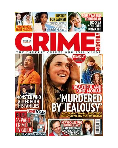 Crime Monthly Subscription
